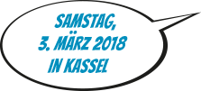 Datum plentymarkets Kongress 2018: Samstag, 3. März 2018 in Kassel