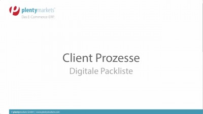Digitale Packliste