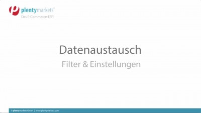 Datenaustausch // Filter