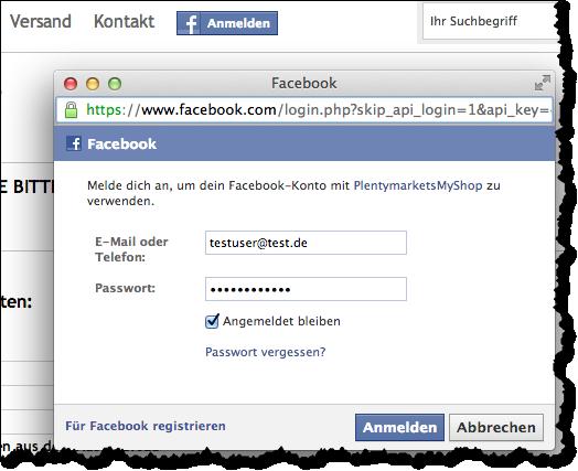 facebook neu anmelden