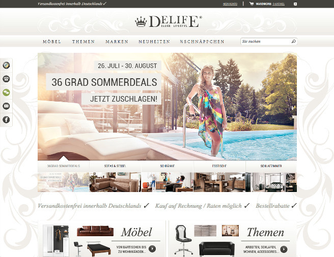 DeLife altes Design