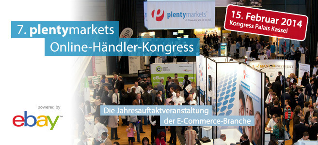 7. plentymarkets Online-Händler-Kongress powered by ebay