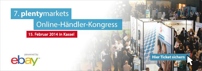 Tickets zum plentymarkets Online-Händler-Kongress 2014