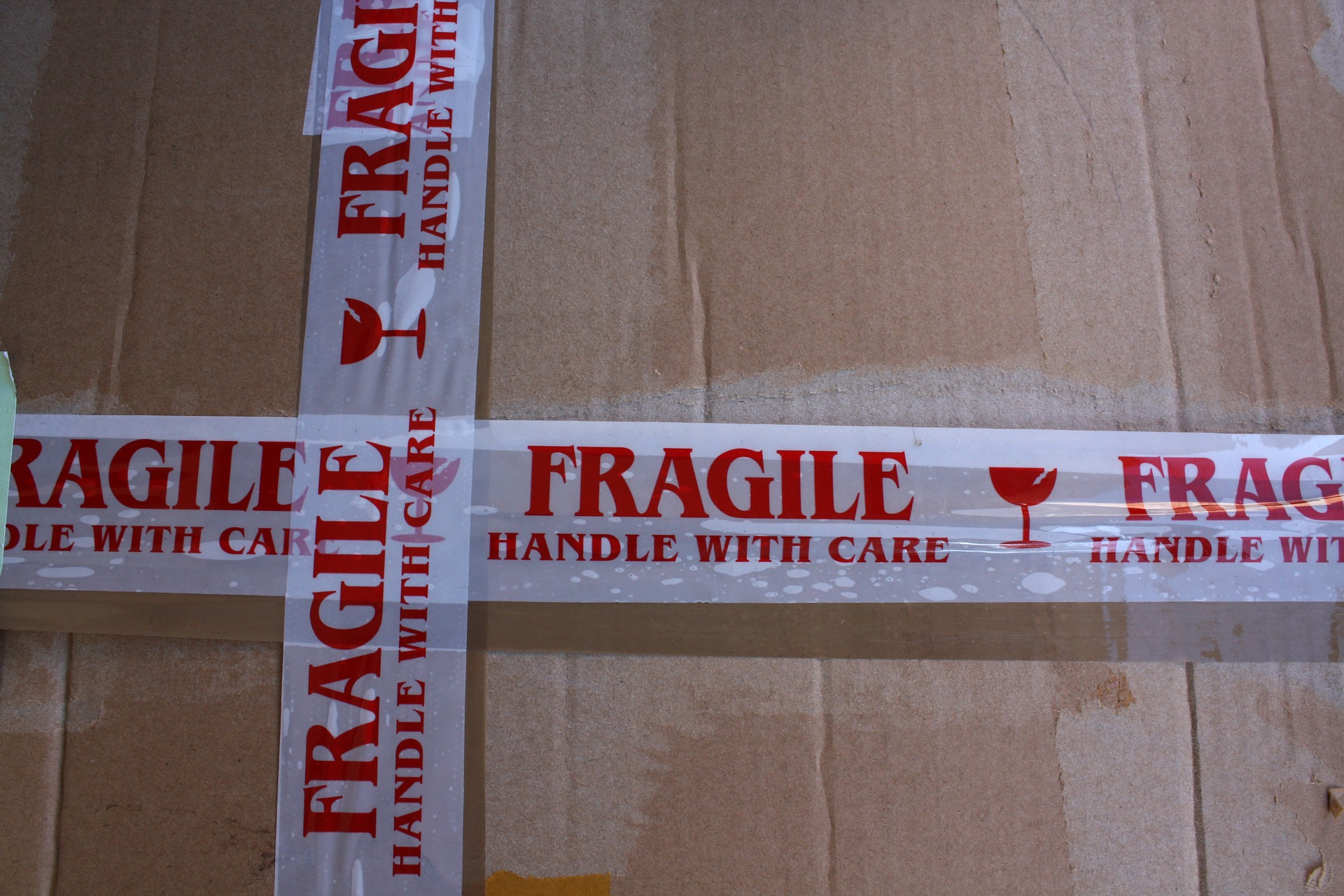 Retourenmanagement fragile Ware