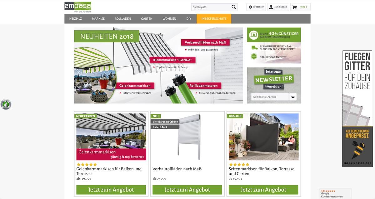 Von Insektenschutzgittern Problemlösern Und Online Shops