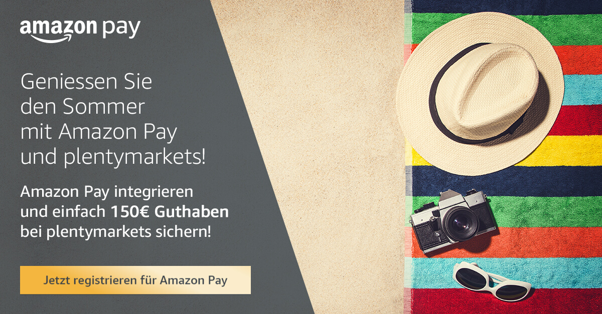 Amazon Pay plentymarkets Angebot