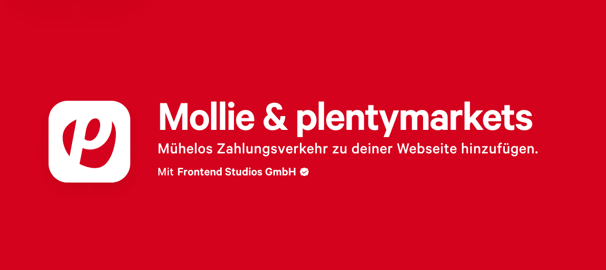 Mollie-Plugin für plentymarkets