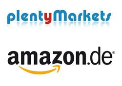 plentyMarkets & amazon.de Logo